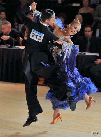Emanuel & Tania at the 2010 Snowball Classic